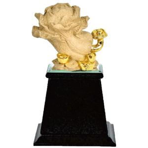 F 原石雕塑製作