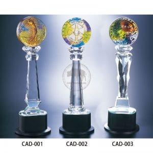 CAD 水晶燈光獎盃訂製