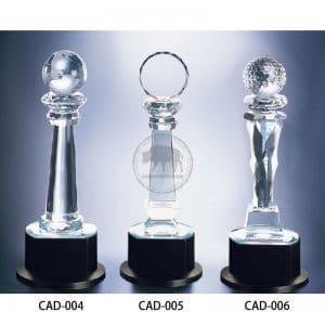 CAD 水晶燈光獎盃訂做