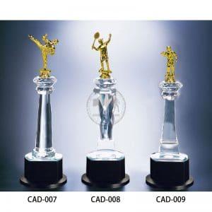 CAD 水晶燈光獎盃製造