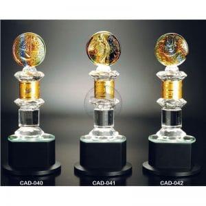 CAD 水晶金屬獎杯訂做