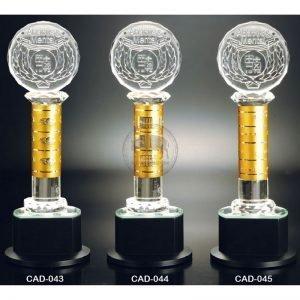 CAD 水晶金屬獎盃購買
