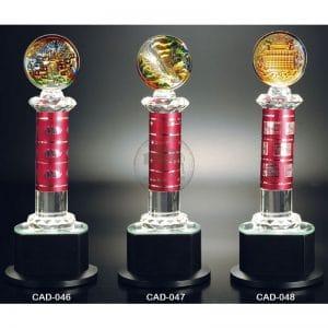 CAD 水晶金屬獎盃便宜