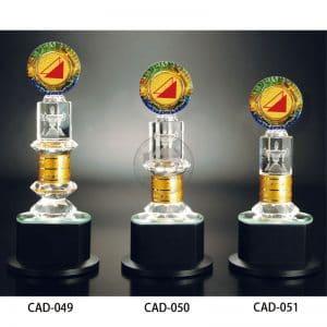 CAD 水晶金屬獎杯