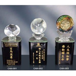 CAH 黑水晶獎座訂製