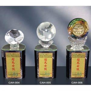 CAH 黑水晶獎座訂做
