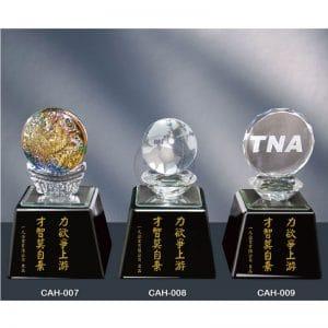 CAH 黑水晶獎座製造