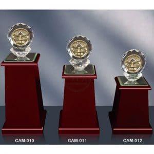 CAM 水晶木質獎盃訂做