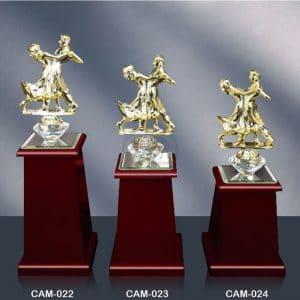 CAM 水晶木質獎座製作