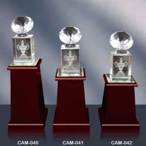 CAM 水晶木質獎座專賣