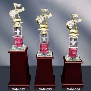 CAM 水晶木質獎座價錢