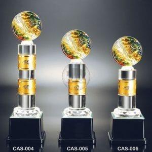 CAS 水晶金屬獎座便宜