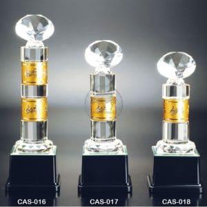 CAS 水晶金屬獎座樣式