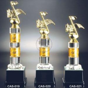 CAS 水晶金屬獎座價格