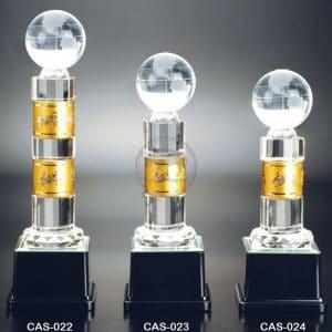 CAS 水晶金屬獎座費用