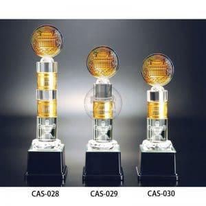 CAS 水晶金屬獎盃定作