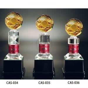 CAS 水晶金屬獎座價錢