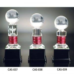 CAS 水晶金屬獎盃樣式