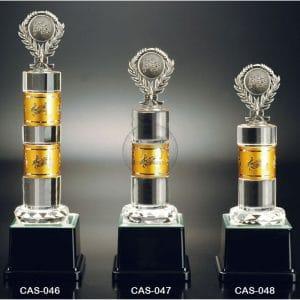 CAS 水晶金屬獎盃價格