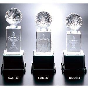CAS 水晶燈光獎座製造