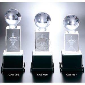 CAS 水晶燈光獎座製做