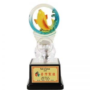 CPL 水琉璃獎座製做