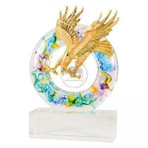 DY 開業水琉璃雕塑