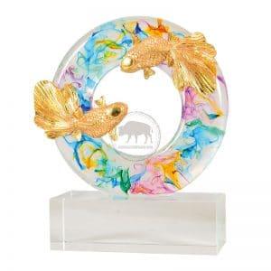 DY  圓融水琉璃雕塑