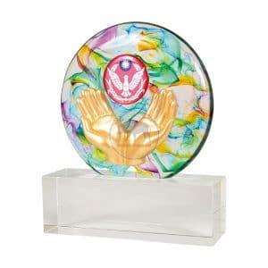 DY 警察水精琉璃藝品