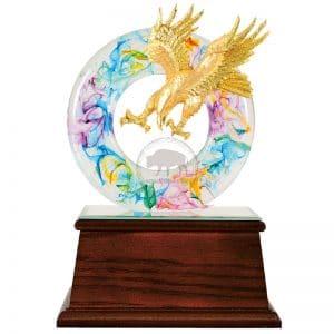 DY  開業水琉璃雕塑禮品