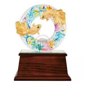 DY  圓融水琉璃雕塑禮品