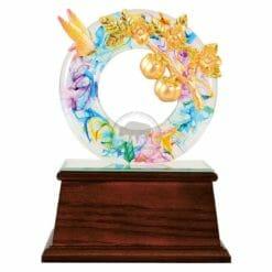 DY  事事如意水琉璃雕塑藝品