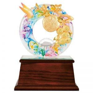 DY  大吉大利水琉璃雕塑藝品
