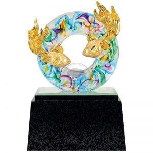 DY  圓融水琉璃雕塑藝品