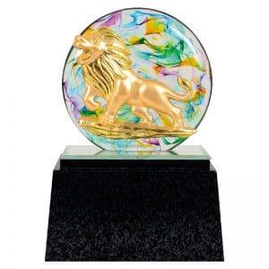 DY  獅子會水琉璃雕塑藝品