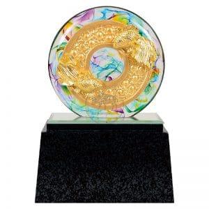 DY  圓融水琉璃雕塑贈品