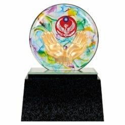 DY  消防水精琉璃雕塑