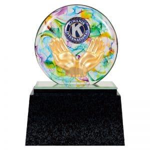 DY  同濟會水精琉璃雕塑