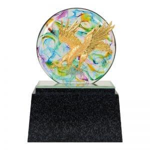DY  開業水琉璃雕塑贈品