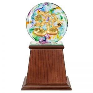 DY 事事如意水琉璃雕塑獎盃