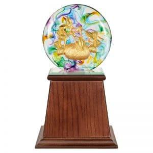 DY  大吉大利水琉璃雕塑禮贈品