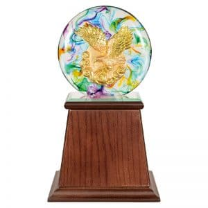 DY  開業水琉璃雕塑禮贈品
