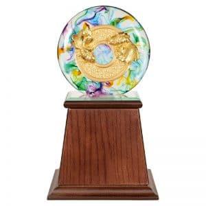 DY  圓融水琉璃雕塑禮贈品