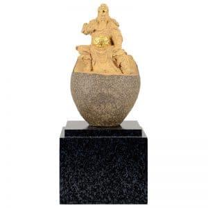 DY 關公原石雕塑獎座