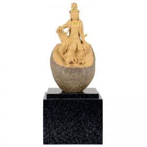 DY 觀音原石雕塑