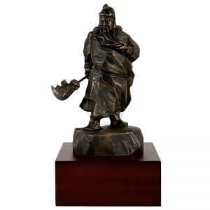 DY 關公原石雕塑