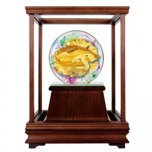 DY 年年有餘水精琉璃玻璃櫥