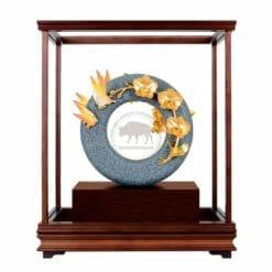 DY  芝蘭之香青斗石玻璃櫥窗