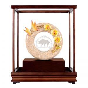 DY 芝蘭之香琺瑯彩玻璃櫥藝品