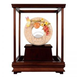 DY 大吉大利琺瑯彩玻璃櫥